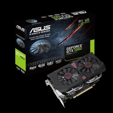 Asus GeForce GTX 1060 Advanced Edition 6GB Video Card