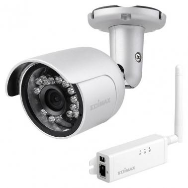 Edimax HD Wi-Fi Mini Outdoor Network Camera with 108o Wide Angle View, Day & Night