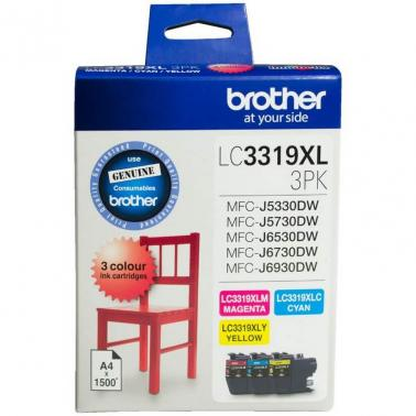 Brother LC3319XL Ink Cartridge Value Pack