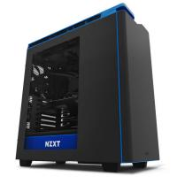 NZXT H440 Mid Tower Case Black/Blue