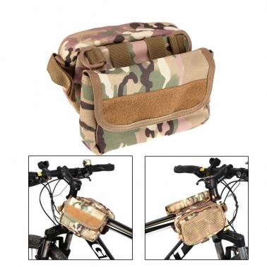 Water Resistant MTB Bicycle Bag with Adjustable Strap