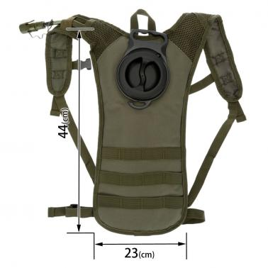 Outdoor Cycling Hiking Running Hydration 2.5L Water Bladder Bag Knapsack Pack Backpack