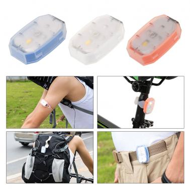 Portable Mini Compact Bicycle Light USB Rechargeable Bicycle LED Front Light Headlight Bike Cycling Rear LED Tail Light
