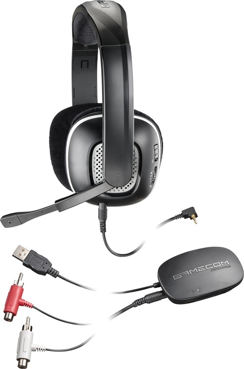 Plantronics Gamecom X95 Wireless Stereo Headset for XBox 360