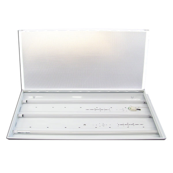 LED Triple T8 1200mm LED Fixture With 3X LED15W 4000K Tubes