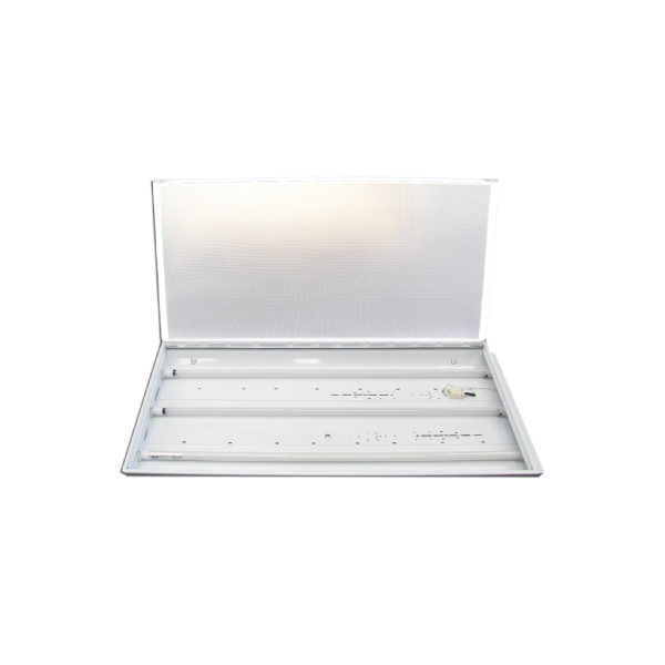 LED Triple T8 600mm LED Fixture With 3X LED 8W 4000K Tubes