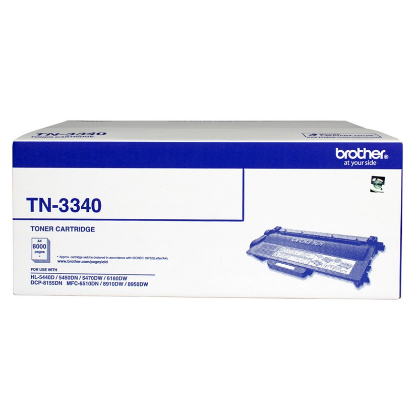 Brother TN-3340 Toner Cartridge 8000K
