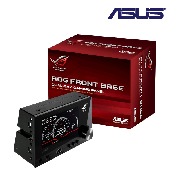 aSUS ROG FRONT BaSE GaMING PaNEL for motherboards with ROG_EXT port