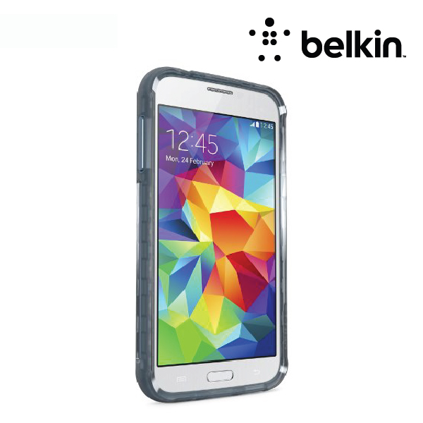 Belkin Grip Extreme for Samsung Galaxy S5, Slate / Mix It Blue
