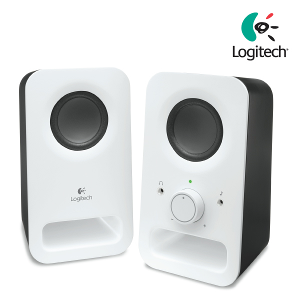 Logitech Z150 Multimedia Speakers 2.0 Snow White