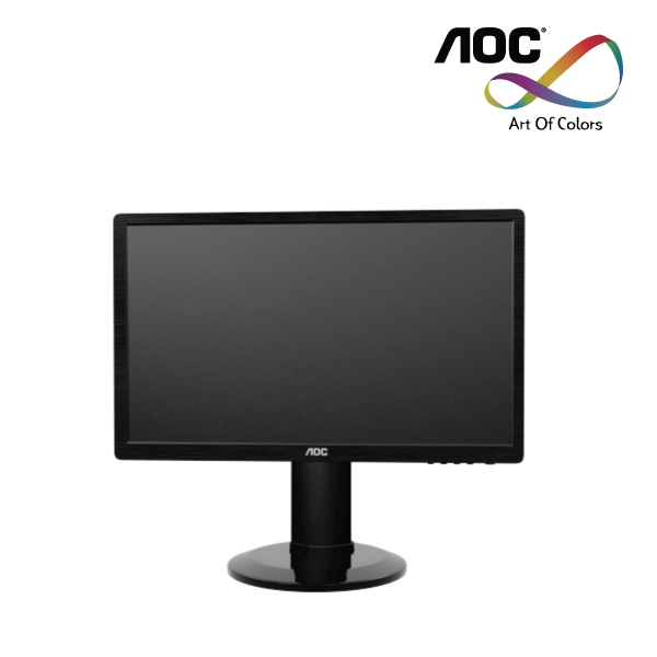 "aOC LED e2460PHU 24""  2ms16:9 Spks, VGa/DVI/HDMI,1920X1080 Blk 2m:1, Height adj. 3yrs"