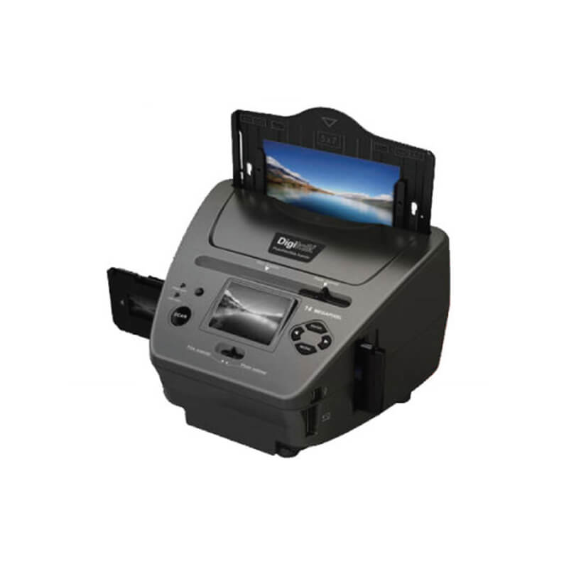 Digitalk 4  in 1 Combo Photo Netgative Film/Slide/Business Card Scanner
