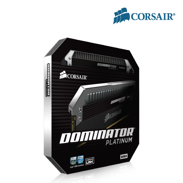 Corsair 16GB (4x4GB) CMD16GX4M4B3000C15 DDR4 3000MHz DOMINaTOR PLaTINUM DIMM 15-17-17-35