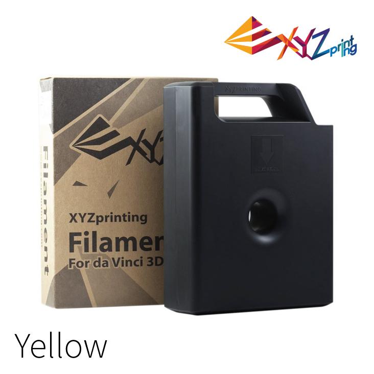 XYZprinting Da Vanci 3D Printer Filament Yellow 600G