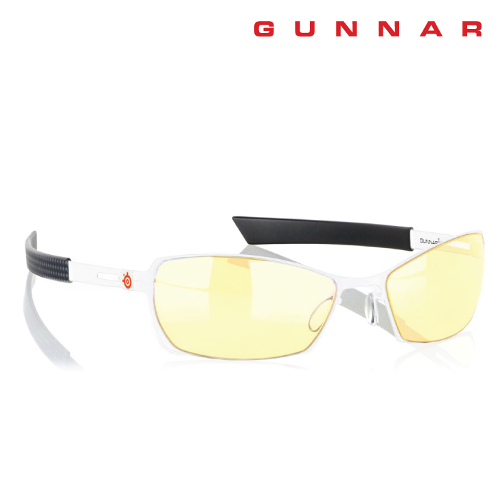 Gunnar SteelSeries Scope amber Snow Carbon Indoor Digital Eyewear